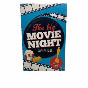 The Big Movie Night Game Card Game NEW